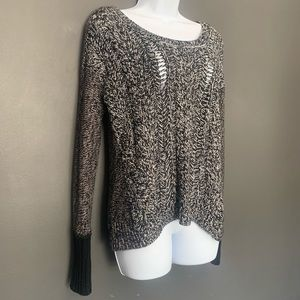 American Eagle Outfitters Black And White Sweater